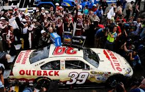 Newman celebrates a win at Martinsville- wbwn.com.